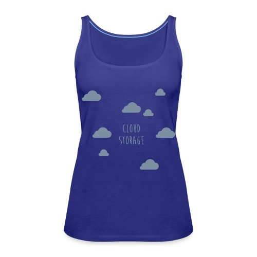 Cloud Storage - Frauen Premium Tank Top