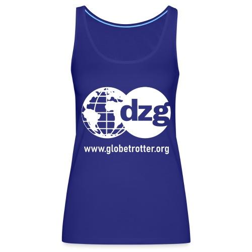 dzg logo Text white - Frauen Premium Tank Top