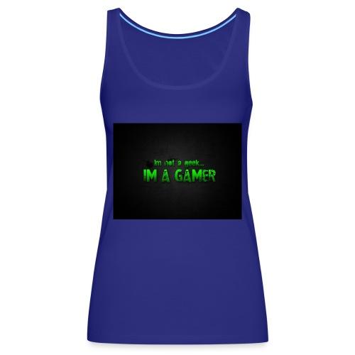 i'm a gamer - Women's Premium Tank Top