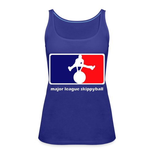Major League Skippyball - Vrouwen Premium tank top