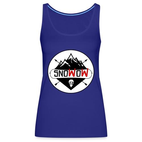 Logo snowow - Camiseta de tirantes premium mujer