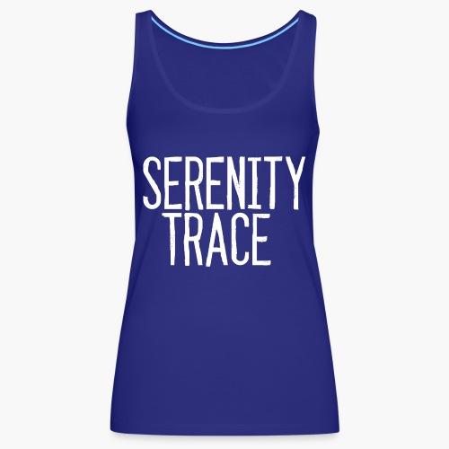 Serenity Trace LOGO W - Premium singlet for kvinner