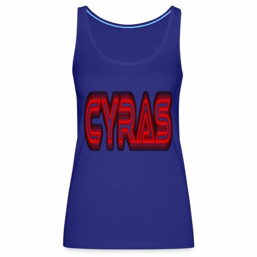 CYRAS - Débardeur Premium Femme