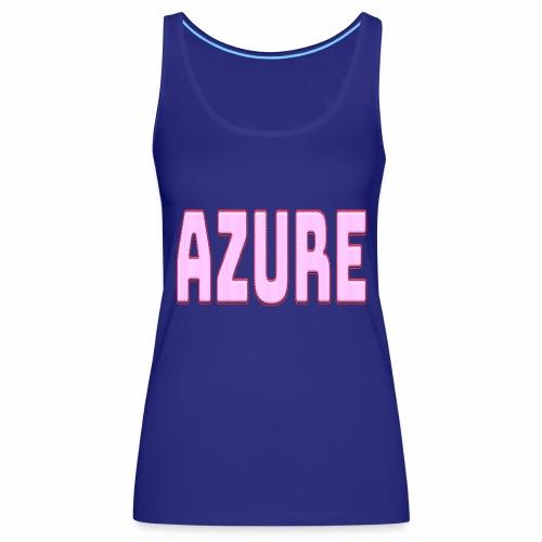 AZURE - Débardeur Premium Femme