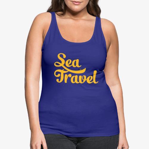 sea travel - Débardeur Premium Femme