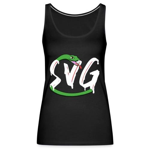 Savage Snake White - Vrouwen Premium tank top