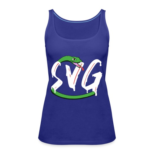 Savage Snake White - Vrouwen Premium tank top