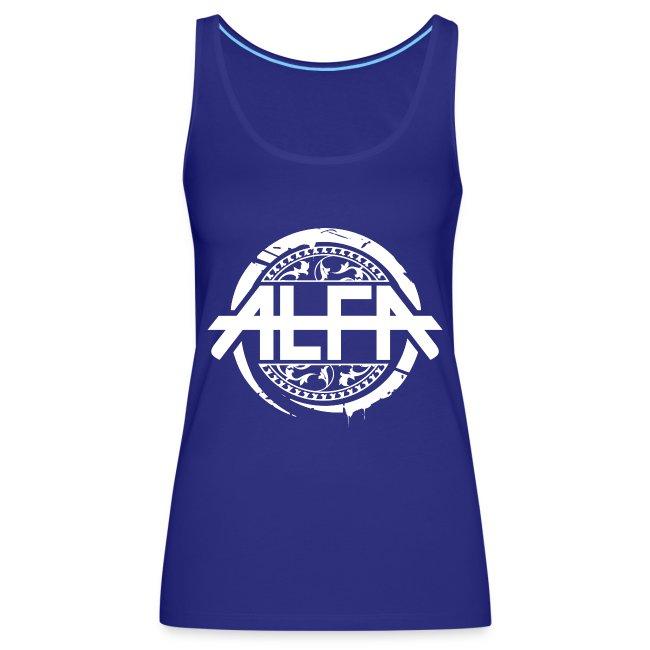 Alfa Logo weiss