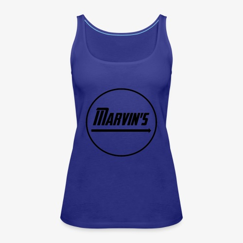 Marvin's black - Frauen Premium Tank Top