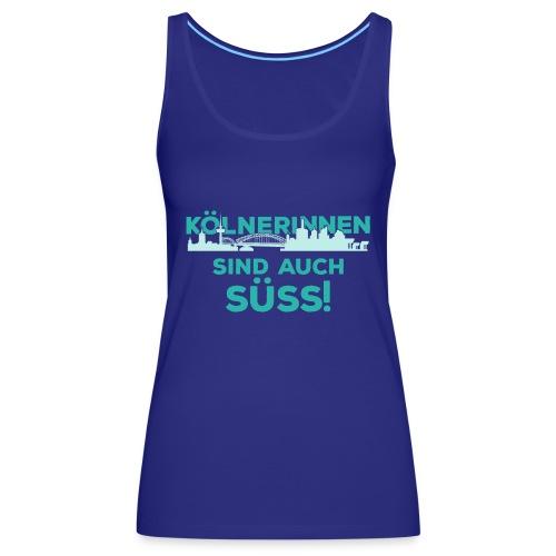 Für alle Kölnerinnen und Kölnfans! - Frauen Premium Tank Top