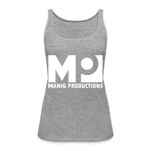 ManigProductions White Transparent png - Women's Premium Tank Top