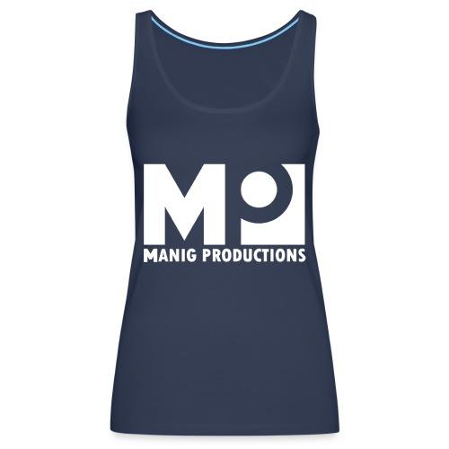 ManigProductions White Transparent png - Women's Premium Tank Top
