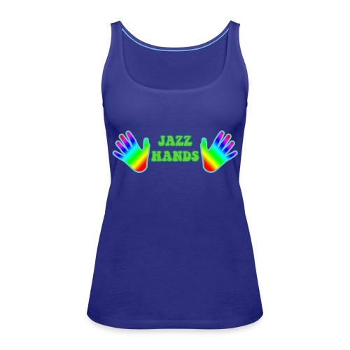Jazz Hands - Women's Premium Tank Top