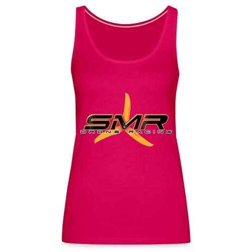 SMR Black - Débardeur Premium Femme