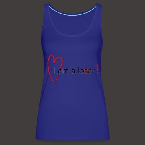 Lover - Black - Débardeur Premium Femme
