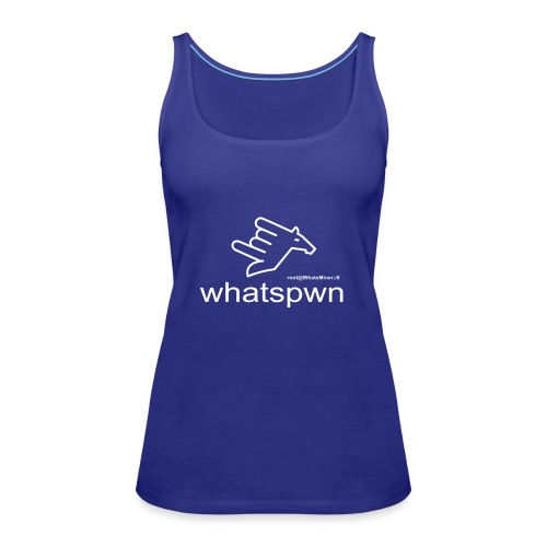 whatsPwn - Frauen Premium Tank Top