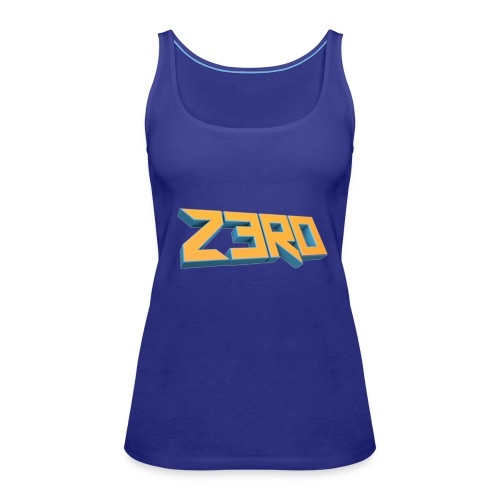 The Z3R0 Shirt - Women's Premium Tank Top