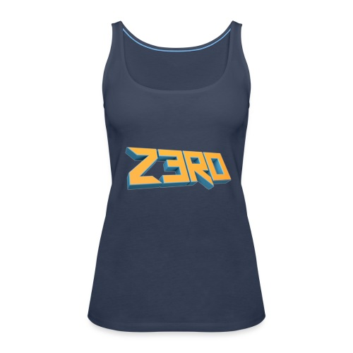 The Z3R0 Shirt - Women's Premium Tank Top