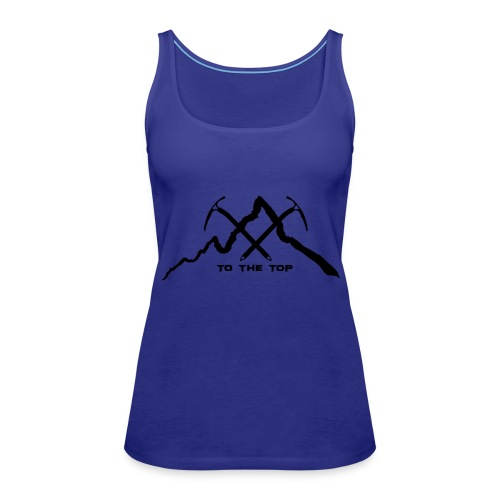 To The Top Black - Frauen Premium Tank Top