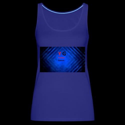 alles met de logo van yorben games - Vrouwen Premium tank top