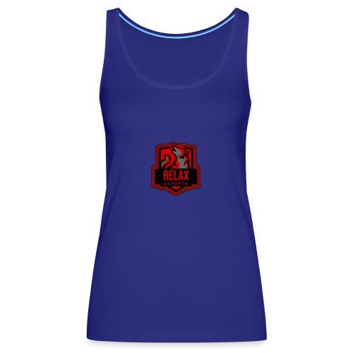 Relax E-sports - Vrouwen Premium tank top
