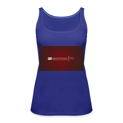 wp2230203 pc master race wallpapers - Frauen Premium Tank Top