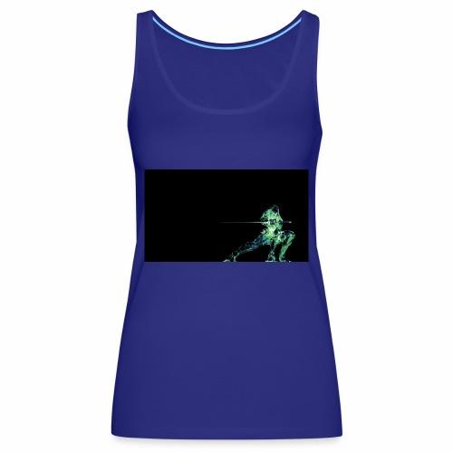 green ninja from PDCM - Vrouwen Premium tank top