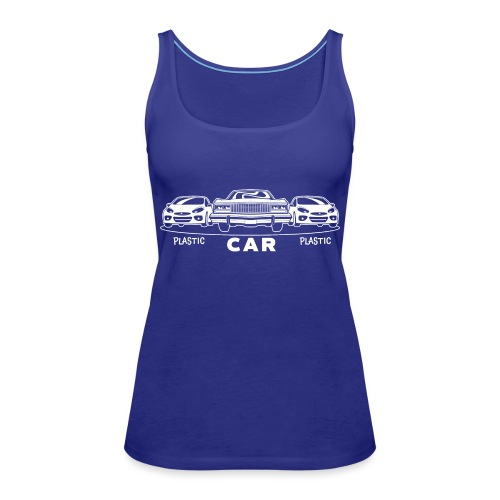 Plastic Car Plastic - Frauen Premium Tank Top