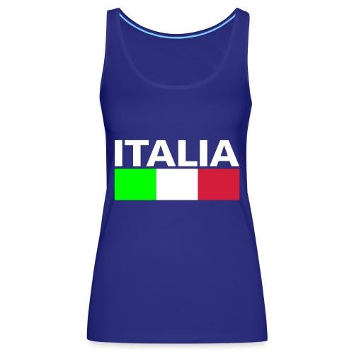Italia Italy flag - Women's Premium Tank Top