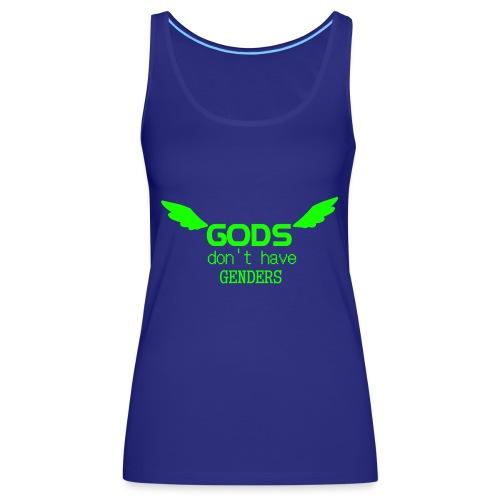Gods don't have Genders (Green) - Naisten premium hihaton toppi