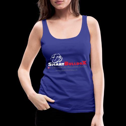 SmartBulldoX Logo Tasche www - Frauen Premium Tank Top