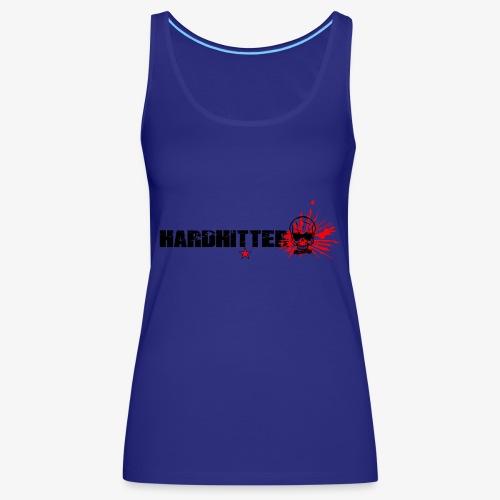 Hardhitter Logo für hellen hintergrund - Frauen Premium Tank Top
