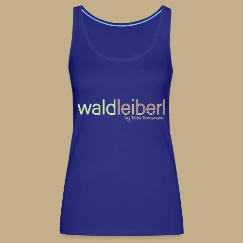 waldleiberl logo by reini rossmann - Frauen Premium Tank Top