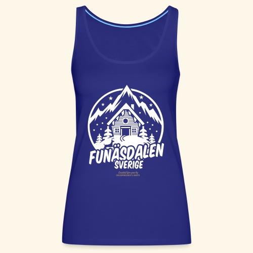 Funäsdalen Sverige Ski Resort T Shirt Design - Frauen Premium Tank Top