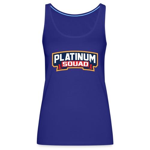 Platinum Trophies Squad Logo - Women's Premium Tank Top