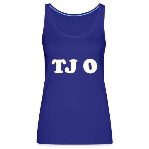 TJ 0 - Naisten premium hihaton toppi