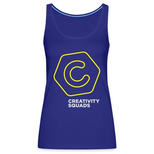 CreativitySquads 002 - Naisten premium hihaton toppi