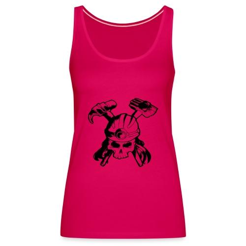 Skull and Crossbones - Women's Premium Tank Top