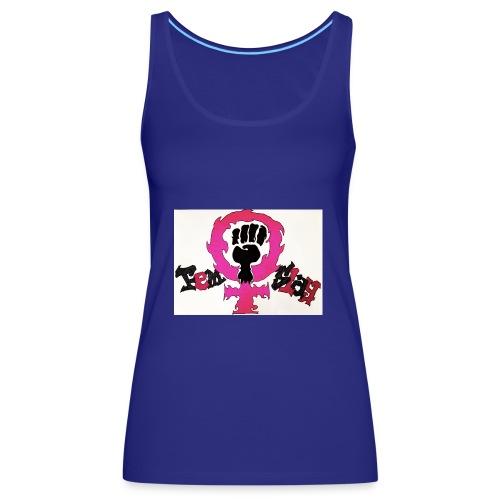 FemSlay Logo - Frauen Premium Tank Top
