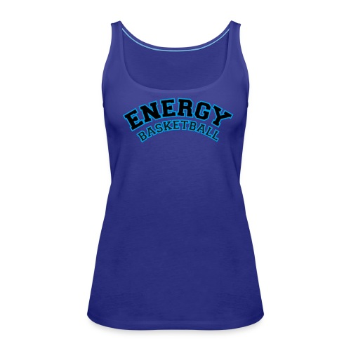 street wear logo nero energy basketball - Canotta premium da donna