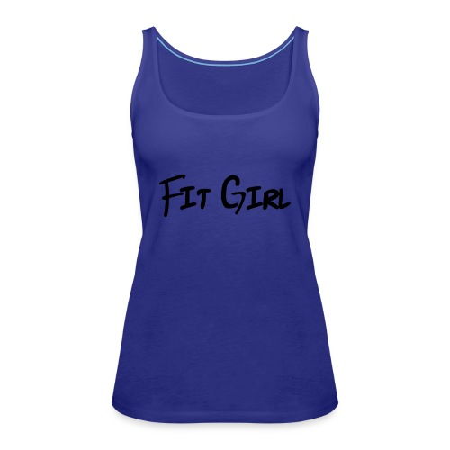 Fit girl - Tank top damski Premium