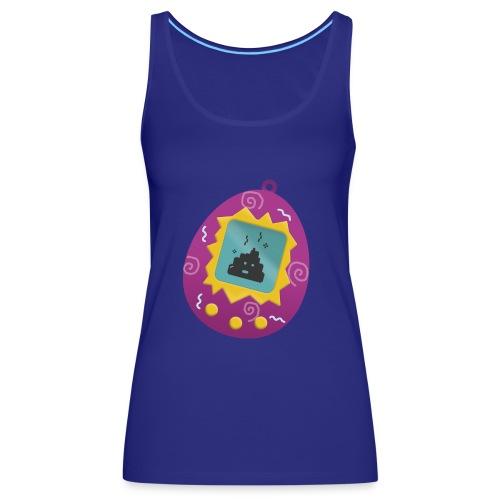 Tamagotchi Poo - Camiseta de tirantes premium mujer