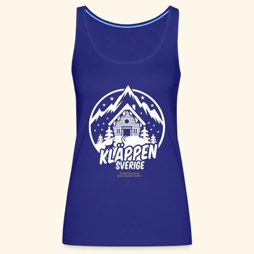 Kläppen Sälen Sverige Ski Resort T Shirt Design - Frauen Premium Tank Top