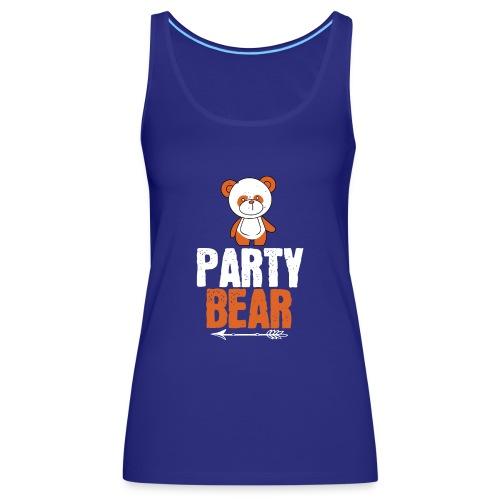 party bear - Vrouwen Premium tank top