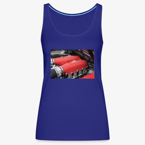 Supercar Engine - Women's Premium Tank Top