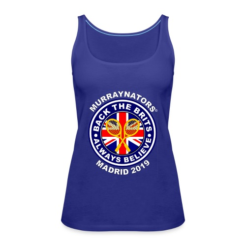 BackTheBritsMadrid19 - Women's Premium Tank Top