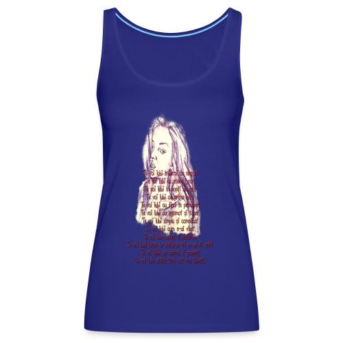 Citat 3 SSm - Camiseta de tirantes premium mujer