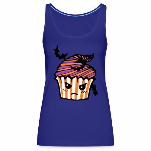 cupcake Halloween - Camiseta de tirantes premium mujer