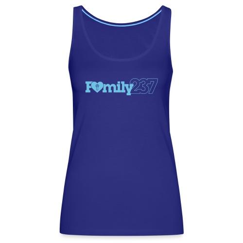 Family237 Blue - Women's Premium Tank Top