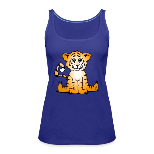 Tiger cub - Women's Premium Tank Top